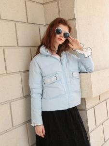 欧米媞女装短款羽绒服
