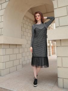欧米媞女装新款连衣裙