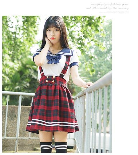 日韩校园服饰代理,品质好的学生日韩学院风水手服供应