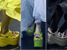 """巴黎世家和Crocs合作款洞洞鞋,真的有了新""""高度"""""""