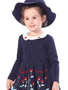 小猪班纳女童装可爱连衣裙