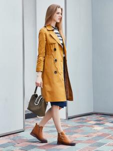 艾诺绮女装秋冬新款大衣