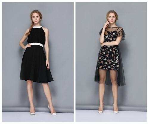 中国十大品牌依路佑妮女装尾货快时尚品牌折扣女装货源