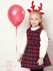 杰米熊女童裙装两件套