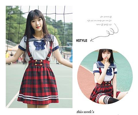 武汉学生日韩学院风水手服专业供应 个性日韩校园服饰