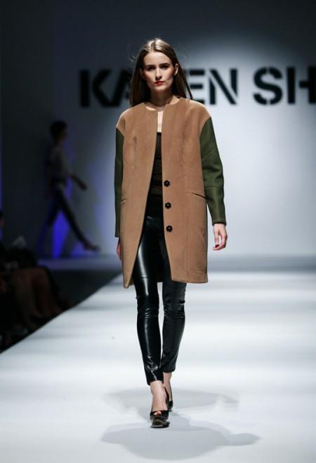 凯伦诗时尚品牌女装一线正品折扣女装走份批发