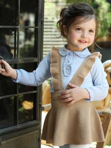 芭乐兔女小童两件套