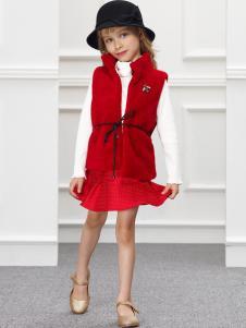 IKKI女童新款连衣裙