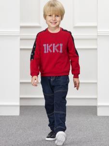 IKKI男童新款外套