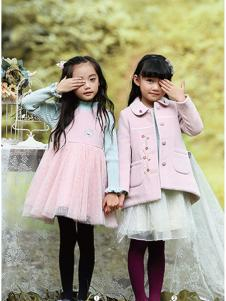 徳蒙斯特秋冬新款粉色大衣