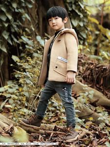 徳蒙斯特秋冬新款灰色外套
