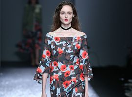 上海时装周: Oriental Poppies 东方罂粟