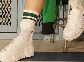 业绩不断增长的Puma 鞋子依然是主力军