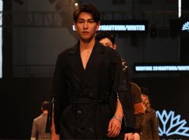 宁波国际时装周:新锐设计师刘文盈诠释都市灵感