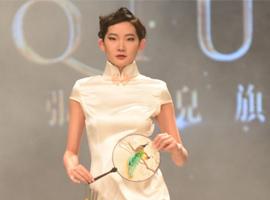 """宁波国际服装节:张秋儿""""蕴婉甬派""""旗袍秀的中国古韵"""
