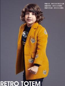 Yuki So男童冬装大衣