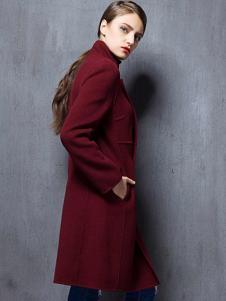 薇妮兰折扣女装秋冬大衣
