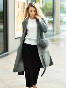 薇妮兰折扣女装秋冬新款大衣