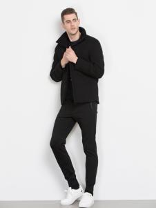 袋鼠男装休闲夹克