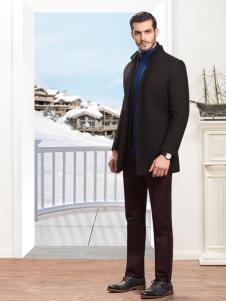 袋鼠男装商务外套