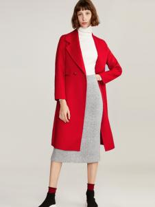 夺宝奇兵女装红色大衣