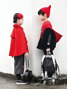 玛玛米雅2017秋冬新款红色大衣
