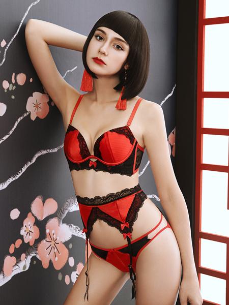 布迪设计时尚新款红色系列