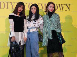 杭州国际时尚周街拍来袭 准备好墨镜以免被美瞎!