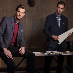 加盟20年男装市场口碑品牌 富绅男装有哪些支持?