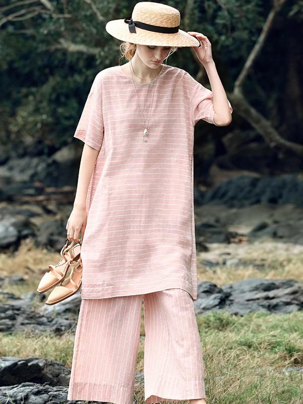 上海高端棉麻丝品牌莫名春夏 紫馨源服饰到货 品牌女装尾货 品牌折扣女装批发