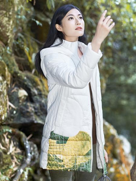 丽比多女装秋冬装新款中长款羽绒服