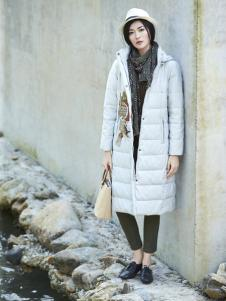 丽比多女装秋冬装新款长款羽绒服