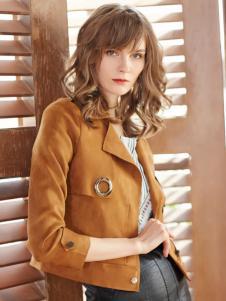 金蝶茜妮冬装新款短外套