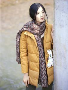 丽比多女装秋冬装中长款羽绒服