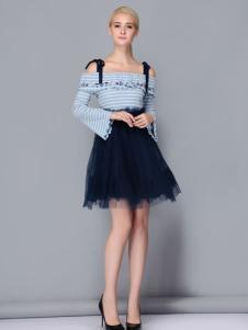依路佑妮甜美连衣裙