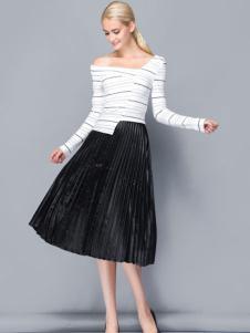2017依路佑妮时尚套装裙