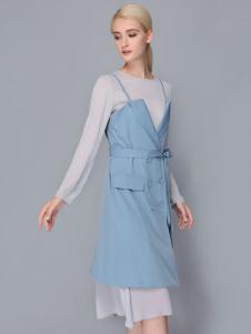 依路佑妮连衣裙两件套