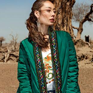 特色异域民族风女装加盟 印巴文化女装无不匠心独运!