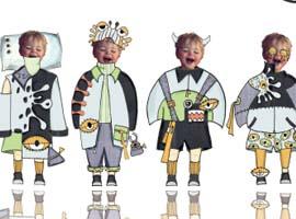 五届中国(虎门)国际童装网上设计大赛决赛揭晓