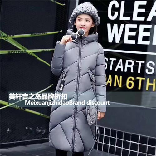 车站服装批发大市场2017新款棉服厂家库存女装批发