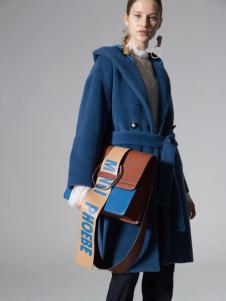SIEGO西蔻17蓝色大衣