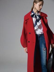 西蔻女装大衣17新款