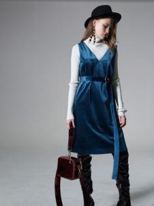 西蔻女装2017连衣裙
