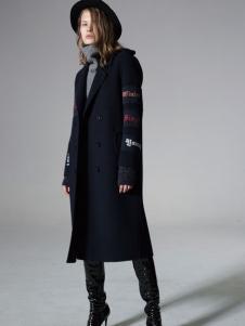 西蔻女装设计范大衣