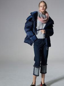 西蔻女装英伦复古外套