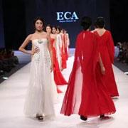 ECA优雅艺术轻奢女装:行走于优雅世界里的艺术家