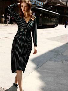 卡索女装优雅连衣裙
