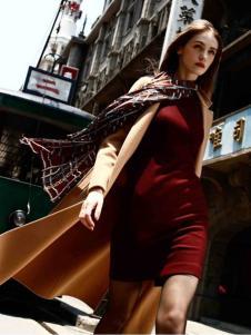 卡索女装羊毛大衣
