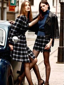卡索女装皮衣外套