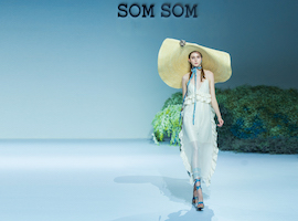 SOMSOM2018夏季新品发布秀如临仙境,和她追寻博猫游戏娱乐官网新坐标